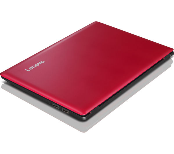 "Image of LENOVO IdeaPad 100S 11.6"" Laptop - Red"