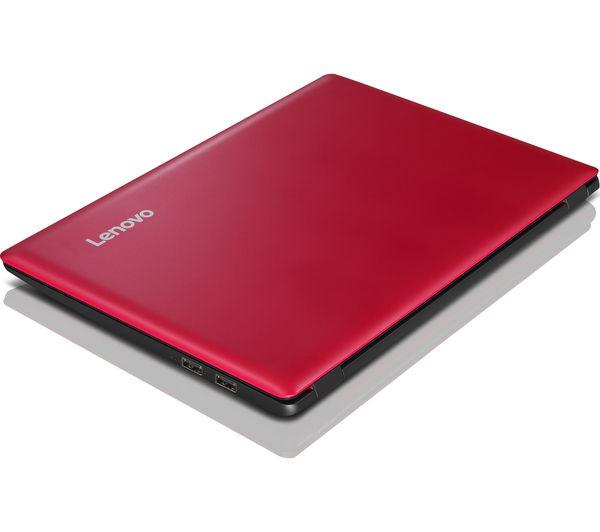 "Image of LENOVO IdeaPad 100S 11.6"" Laptop - Red"