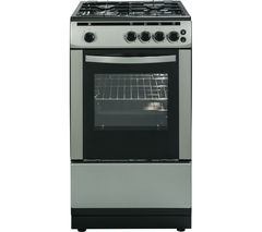 ESSENTIALS CFSGSV16 50 cm Gas Cooker - Silver