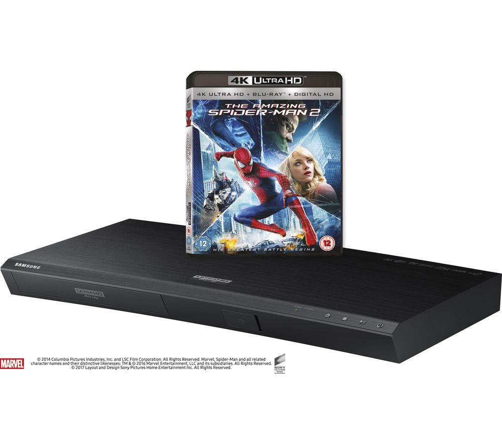 SAMSUNG UBD-K8500/XU Smart 4k Ultra HD 3D Blu-ray Player + Ghostbusters UHD (1984)