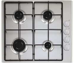 ESSENTIALS CGHOBX16 Gas Hob - Stainless Steel