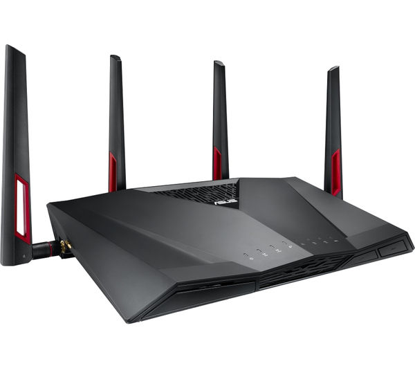 Buy ASUS RT-AC88U Wireless Cable & Fibre Router - AC 3100 ...