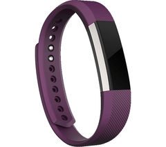 FITBIT Alta Classic Accessory Band - Large, Plum
