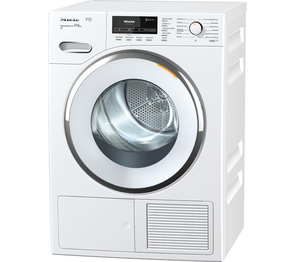 Heat Pump Dryer ~ Buy miele tmr wp heat pump tumble dryer white free