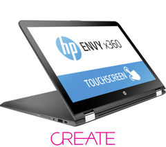 "HP Envy x360 15-ar052sa 15.6"" 2 in 1 - Black"