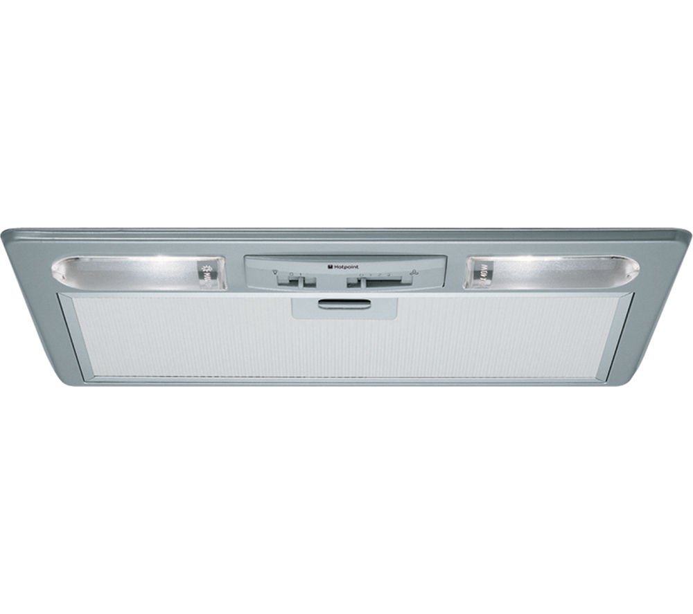 HOTPOINT  HTU32X Canopy Cooker Hood  Stainless Steel Stainless Steel