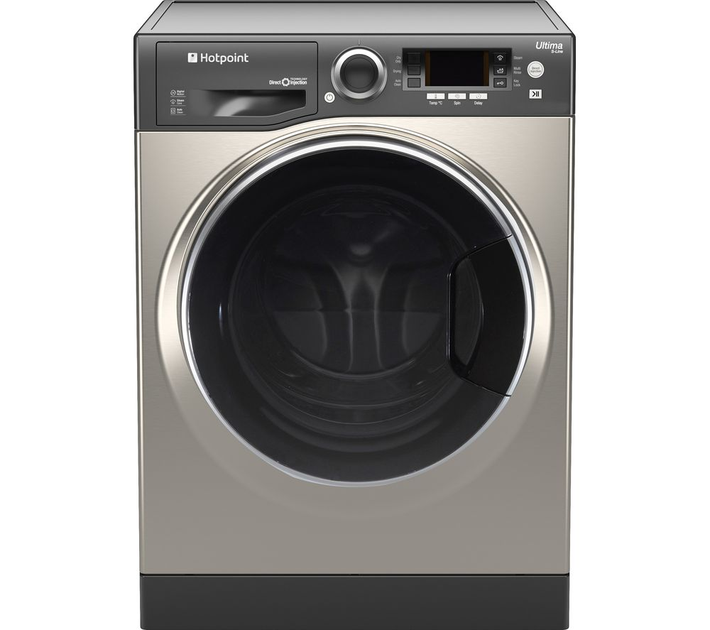 HOTPOINT  RD 966 JGD UK Washer Dryer  Graphite Graphite