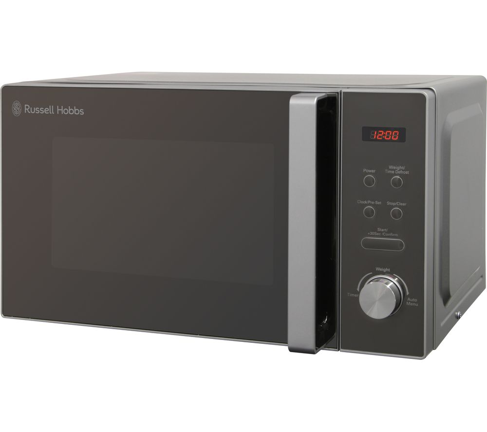RUSSELL HOBBS  RHM2076S Solo Microwave  Silver Silver