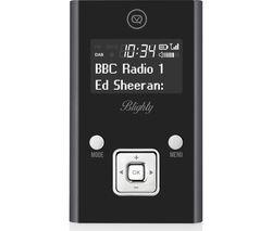 VQ Blighty -PDR-GR Portable DAB Radio - Black