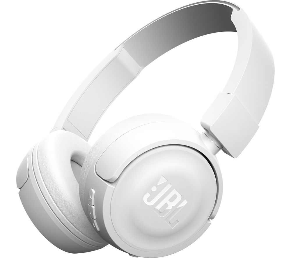 Click to view more of JBL  T450 Headphones - White, White