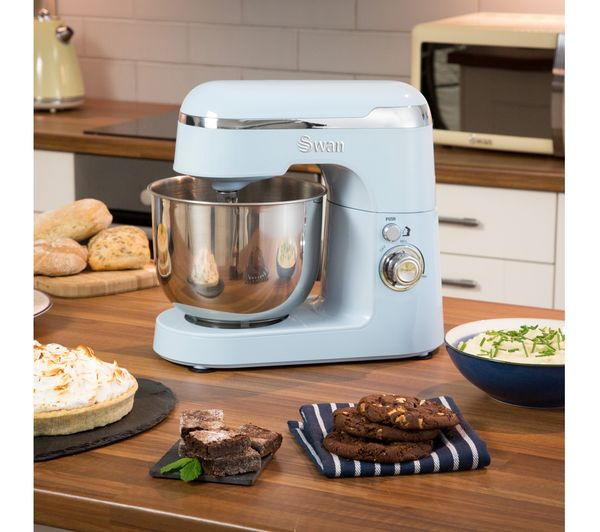 buy swan retro sp25010bln stand mixer blue free