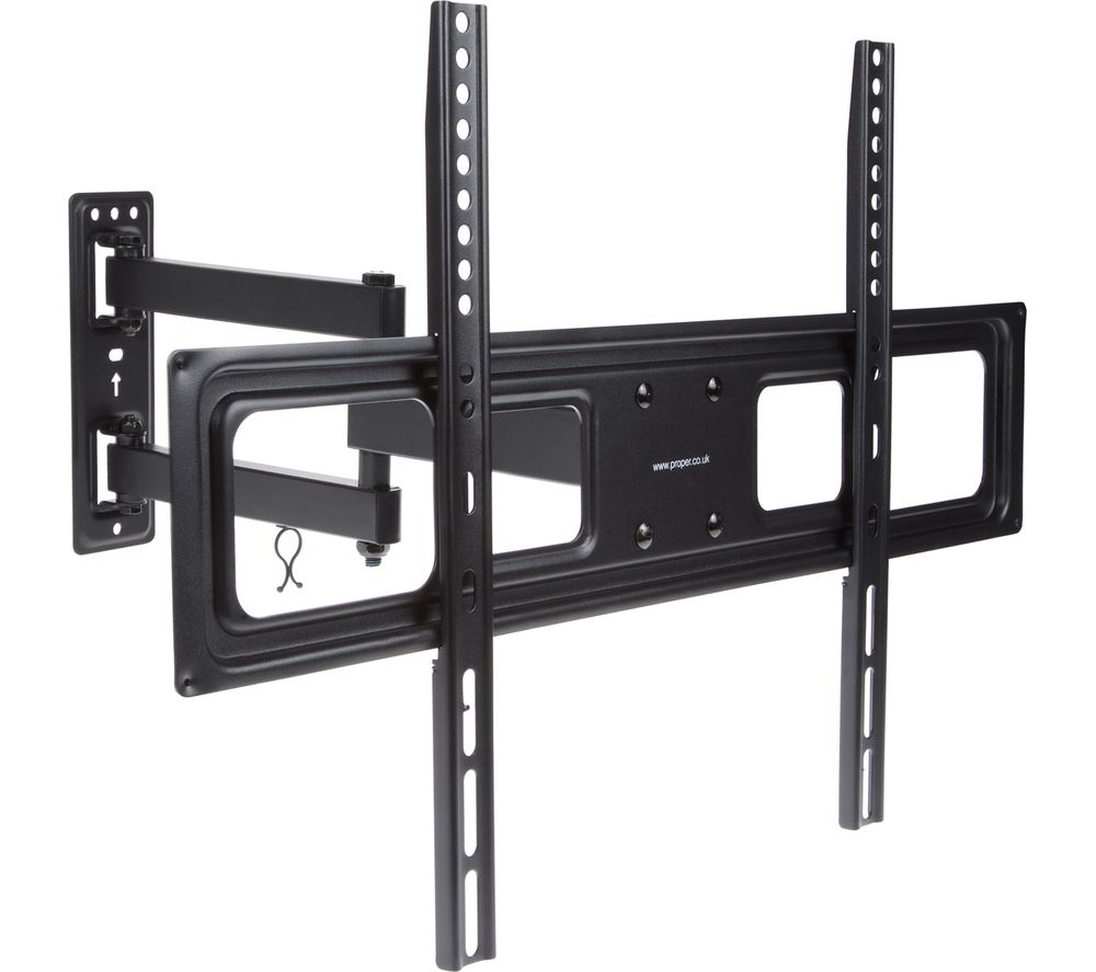 buy proper swing arm full motion curved tv bracket free. Black Bedroom Furniture Sets. Home Design Ideas