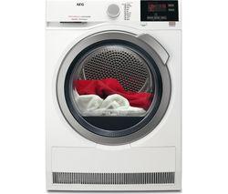 AEG SensiDry T7DBG832R Heat Pump Tumble Dryer - White