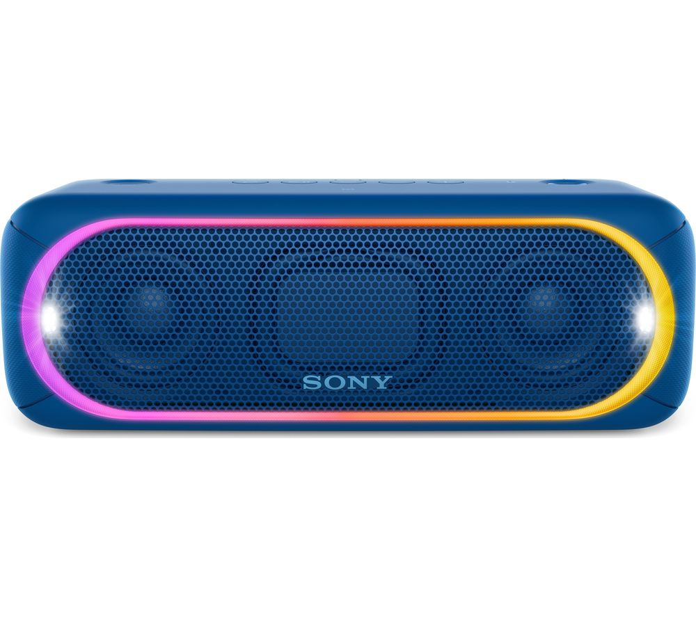 SONY SRS-XB30 Portable Bluetooth Wireless Speaker - Blue