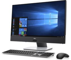 "DELL Inspiron 5000 23.8"" Touchscreen All-in-One PC - Metallic White"
