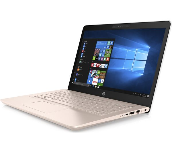 Buy Hp Pavilion 14 Bk069sa 14 Quot Laptop White Amp Rose Gold