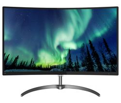"PHILIPS 328E8QJAB5 Full HD 31.5"" Curved IPS LED Monitor - Black"