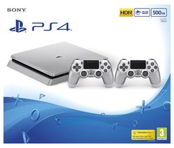 SONY Slim Limited Edition - 500 GB, Silver