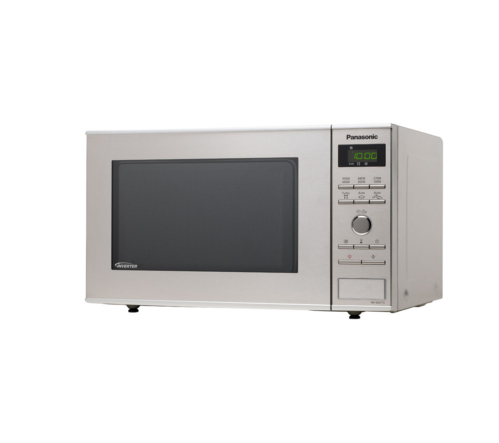 PANASONIC NN-SD271SBPQ Solo Microwave - Stainless Steel