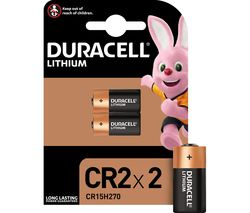 DURACELL Ultra Photo CR2 Lithium Camera Batteries