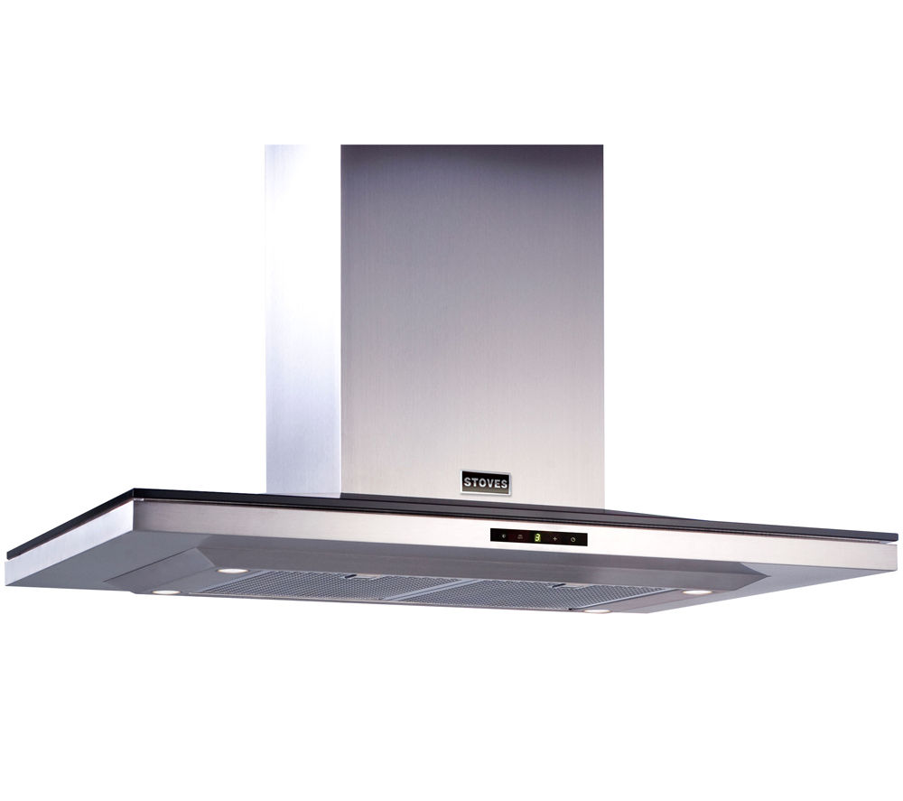 STOVES STS900ISD Island Cooker Hood - Stainless Steel