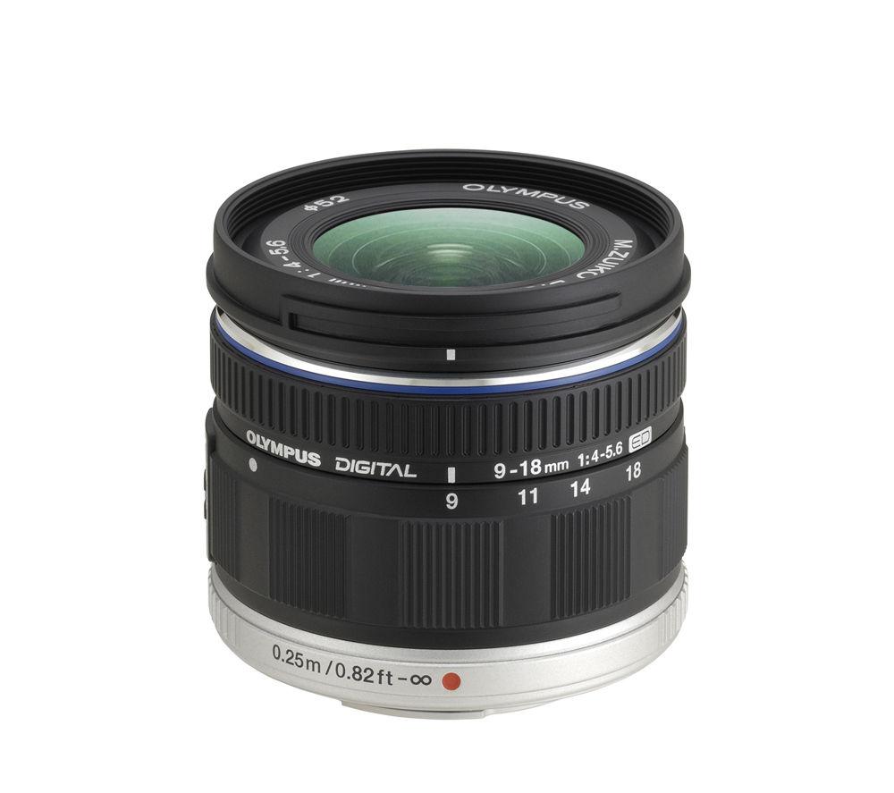 OLYMPUS M.ZUIKO DIGITAL ED 9-18 mm f/4.0-5.6 Wide-angle Zoom Lens