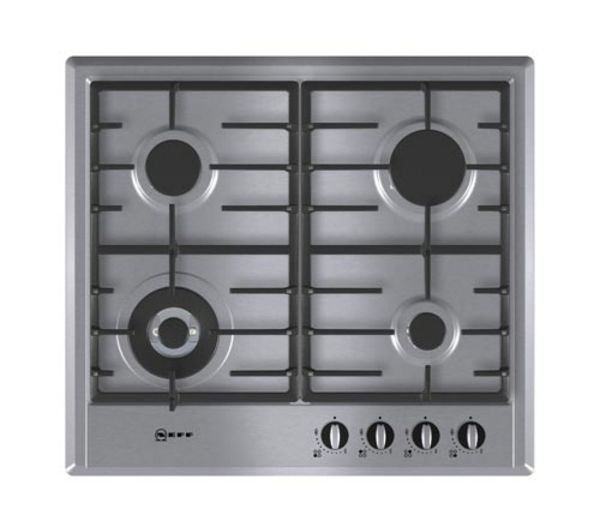 NEFF T22S46N0 Gas Hob - Stainless Steel