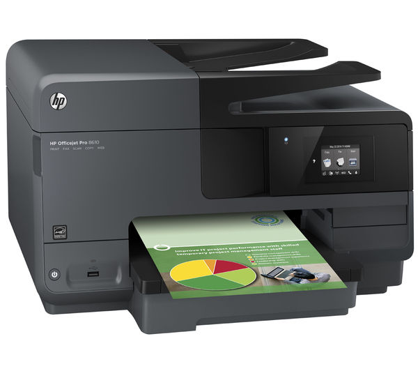 buy hp officejet pro 8610 all in one wireless inkjet printer with fax 950xl 951 xl cyan. Black Bedroom Furniture Sets. Home Design Ideas