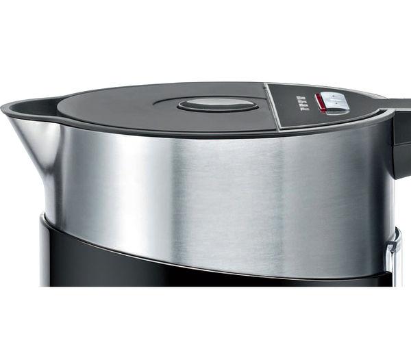buy bosch styline sensor twk86103gb jug kettle black. Black Bedroom Furniture Sets. Home Design Ideas