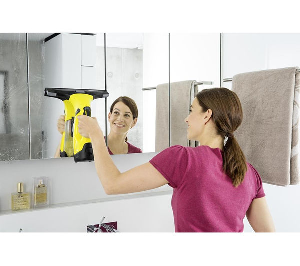 buy karcher wv5 plus window vacuum cleaner free delivery currys. Black Bedroom Furniture Sets. Home Design Ideas