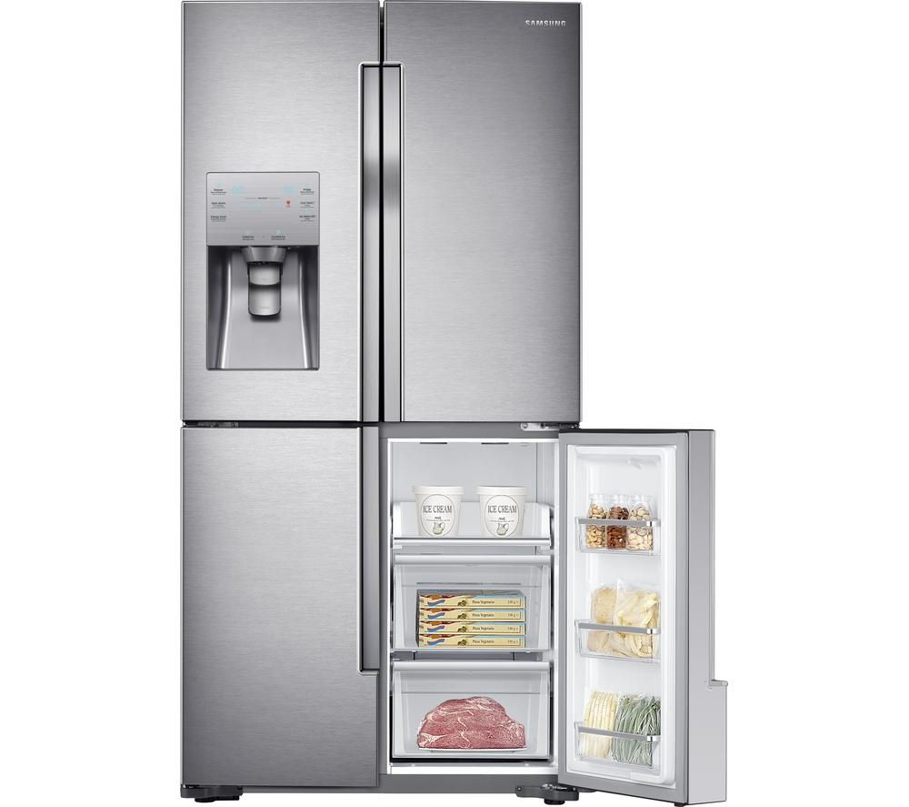 SAMSUNG  RF56J9040SREU AmericanStyle Fridge Freezer  Stainless Steel Stainless Steel