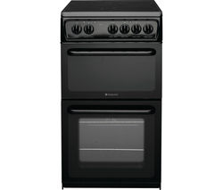 HOTPOINT Concept HAE51KS Electric Ceramic Cooker - Black
