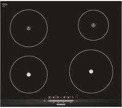 SIEMENS EH675FE27E Electric Induction Hob - Black