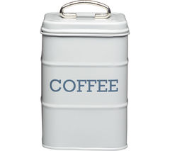 KITCHEN CRAFT Living Nostalgia Vintage Coffee Tin - Grey