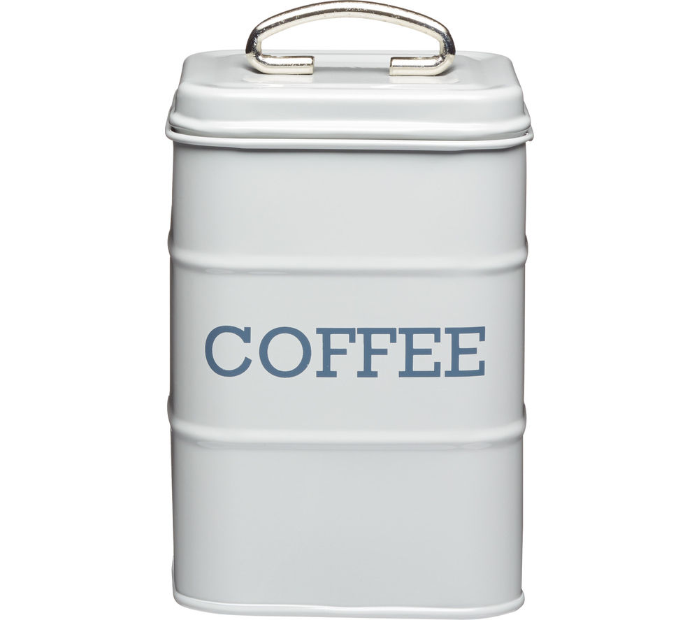 KITCHEN CRAFT Living Nostalgia Vintage Coffee Tin - Grey