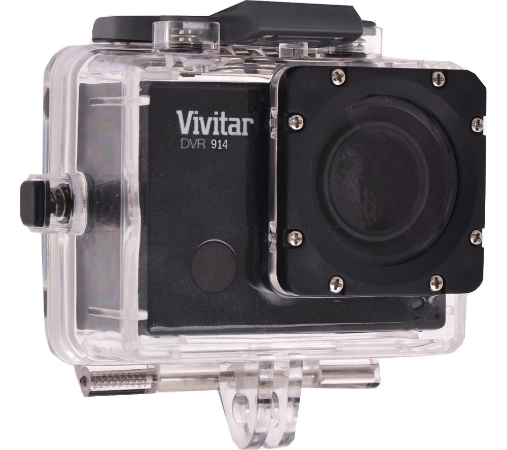 VIVITAR DVR944 Action Camcorder - Black