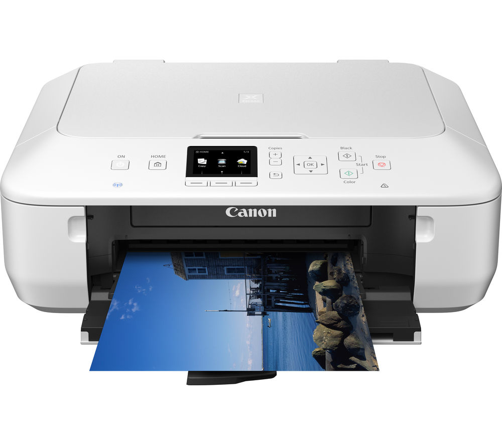 canon pixma mg5650 all in one wireless inkjet printer white deals pc world. Black Bedroom Furniture Sets. Home Design Ideas