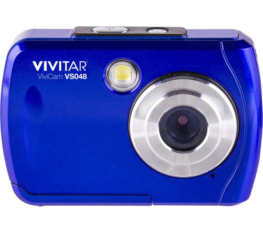 VIVITAR  VS048 Compact Camera  Blue Blue