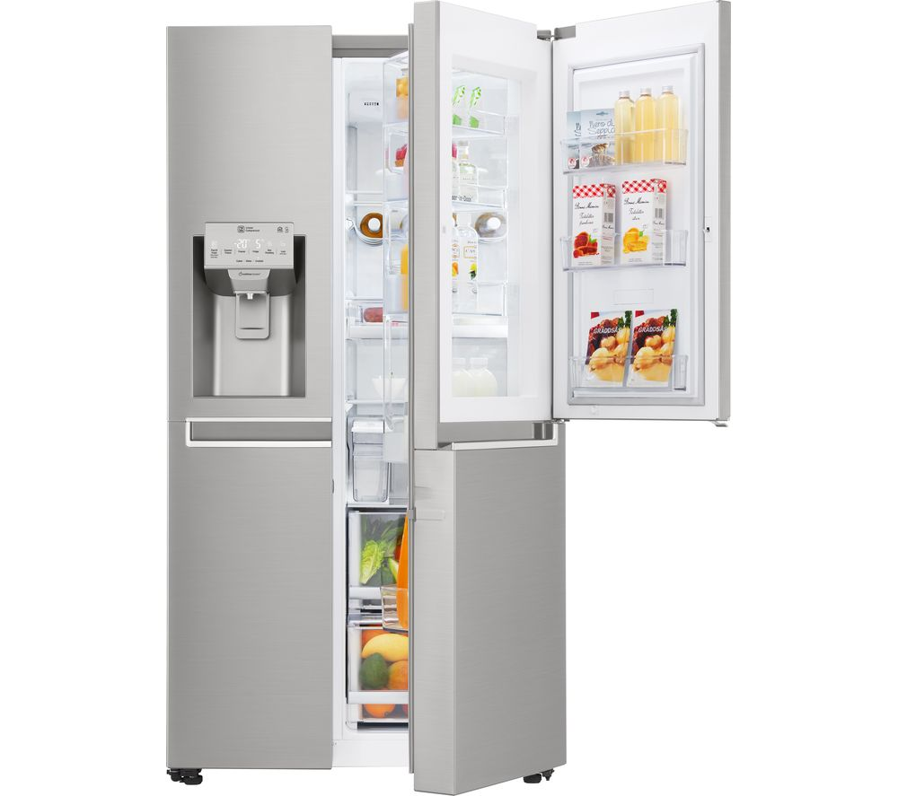 LG  GSJ961NSBV AmericanStyle Fridge Freezer  Stainless Steel Stainless Steel