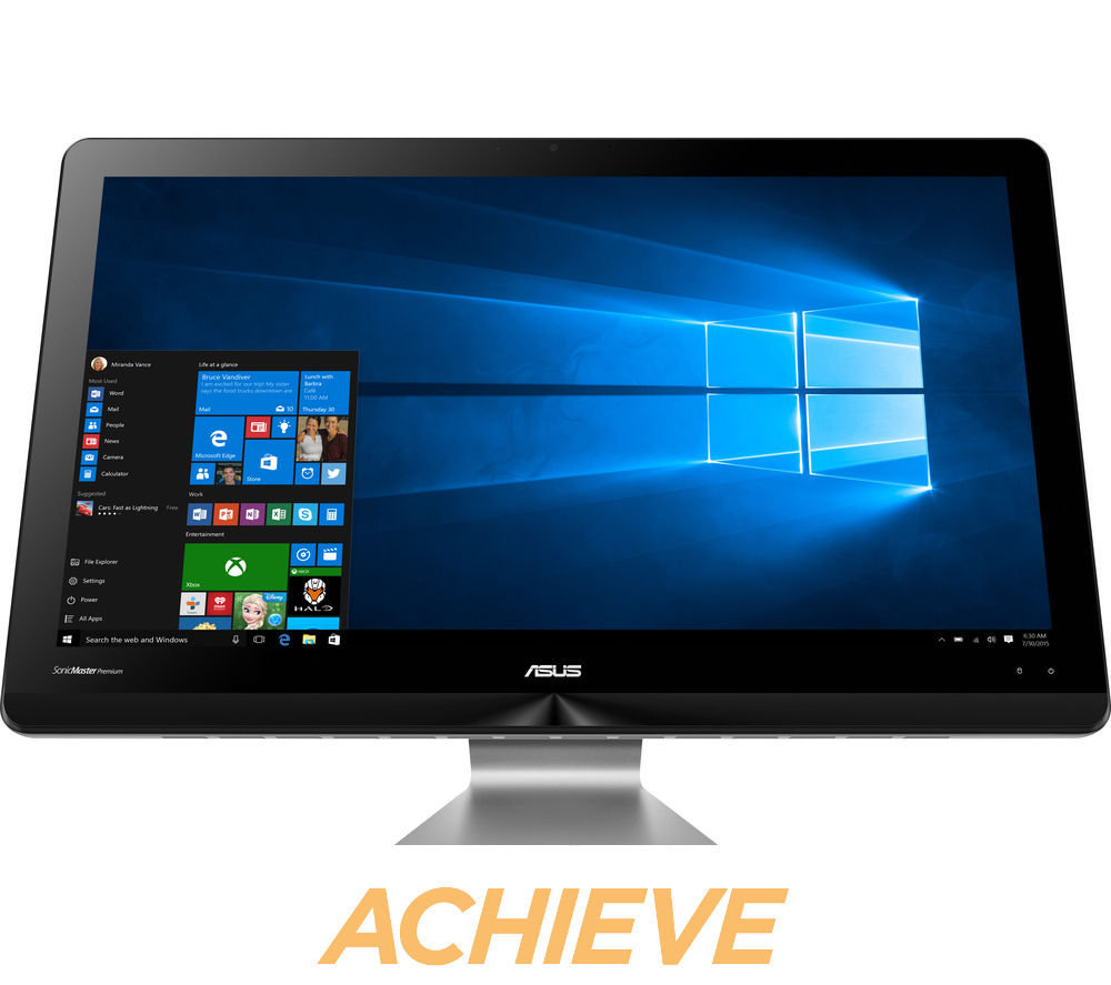 asus zen aio 21 5 all in one pc deals pc world. Black Bedroom Furniture Sets. Home Design Ideas
