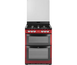 NEW WLD NW601GTCL 60cm Gas Cooker - Metallic Red