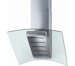 MIELE DA289-4 Chimney Cooker Hood - Stainless Steel
