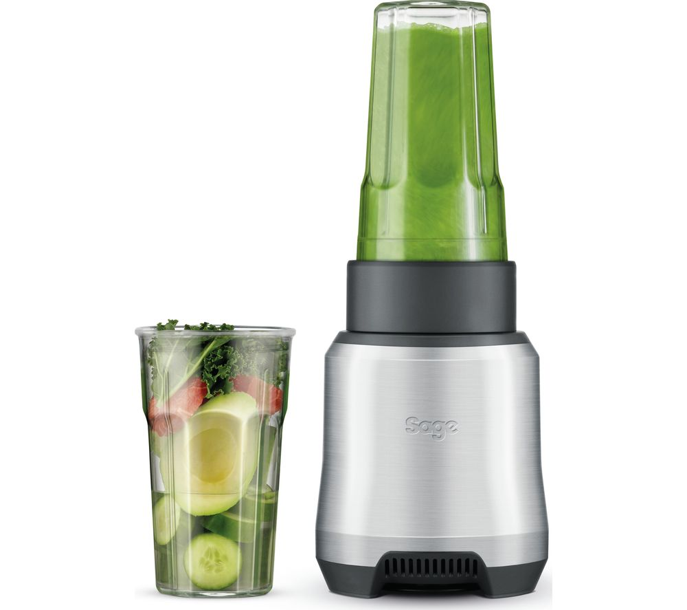SAGE By Heston Blumenthal Boss To Go BPB550BA Blender - Silver