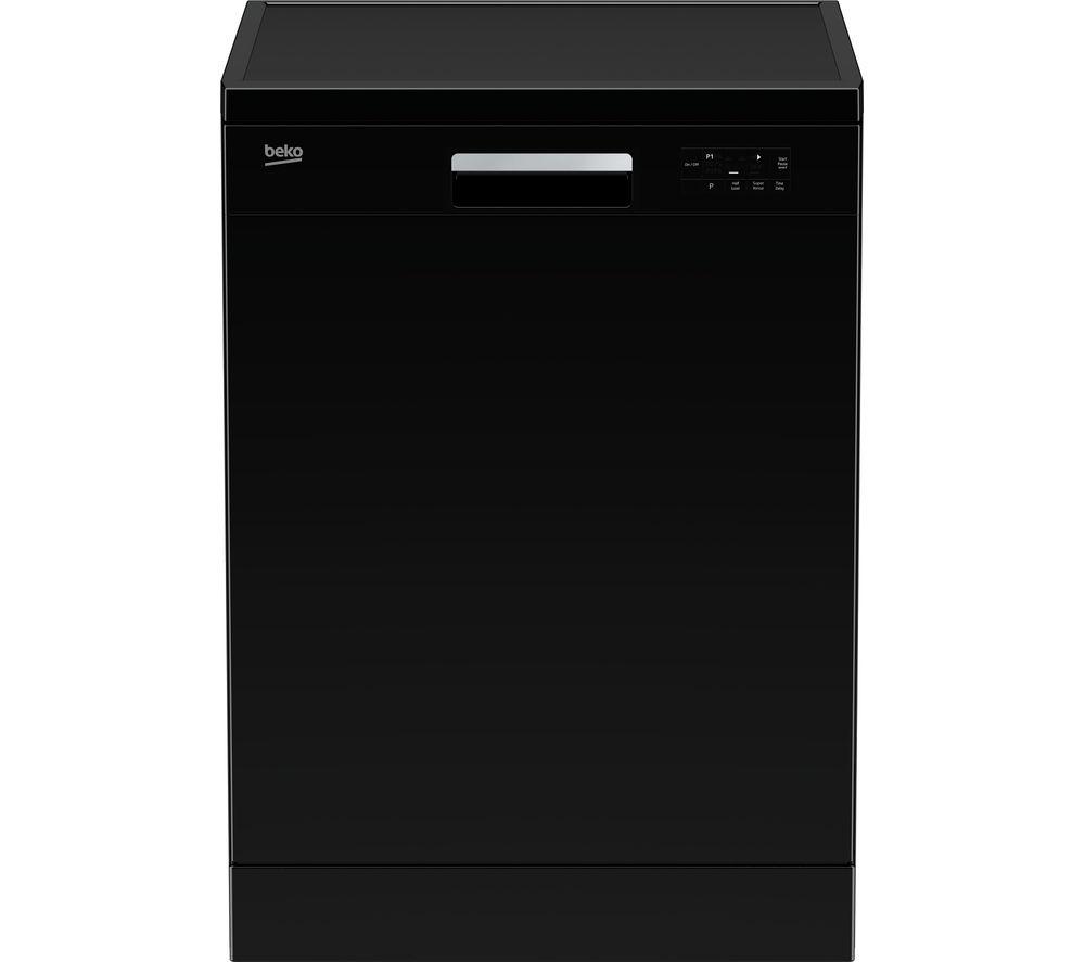 BEKO  DFN15X10B Full-size Dishwasher - Black, Black