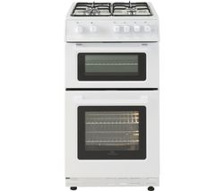 NEW WORLD 50GTC 50 cm Gas Cooker - White