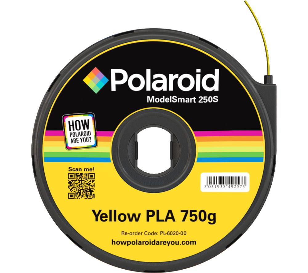 POLAROID PL-6020-00 Filament 3D Printer Cartridge - 750 g, Yellow