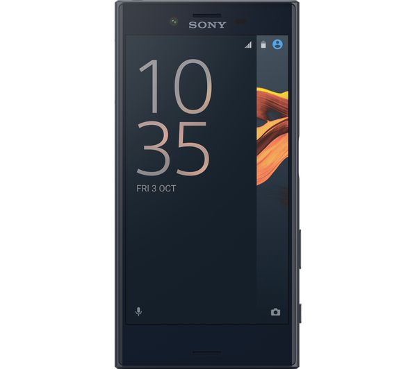 sony xperia x compact 32 gb black deals pc world. Black Bedroom Furniture Sets. Home Design Ideas