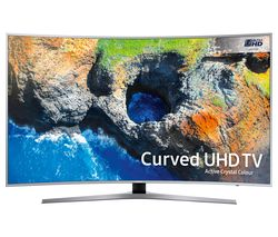"SAMSUNG UE49MU6500 49"" Smart 4K Ultra HD HDR Curved LED TV"