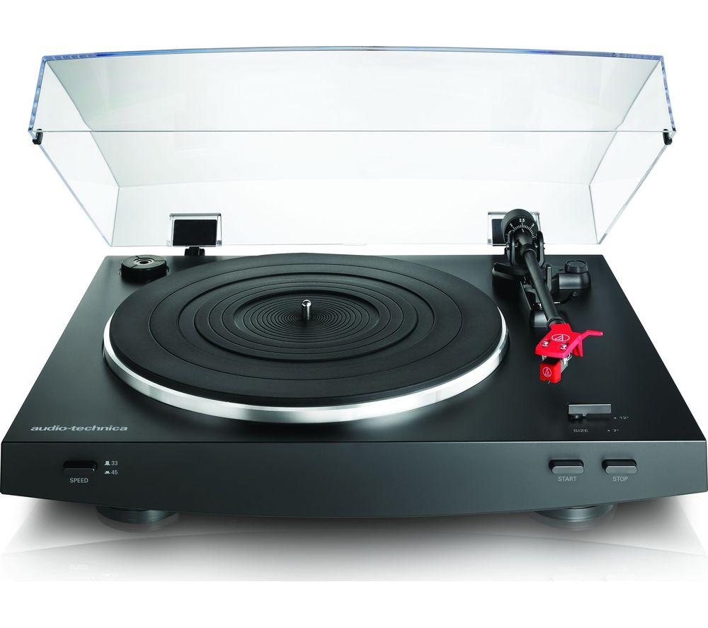 AUDIO TECHNICA AT-LP3 Turntable - Black