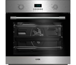 LOGIK LBMFMX17 Electric Single Oven - Stainless Steel